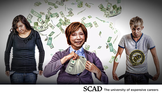 SCAD to Raise Student Annual Costs 14-20%