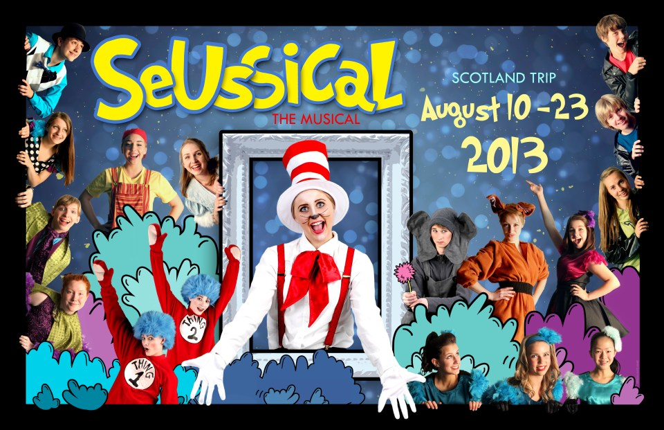 Seussical Scotland Poster