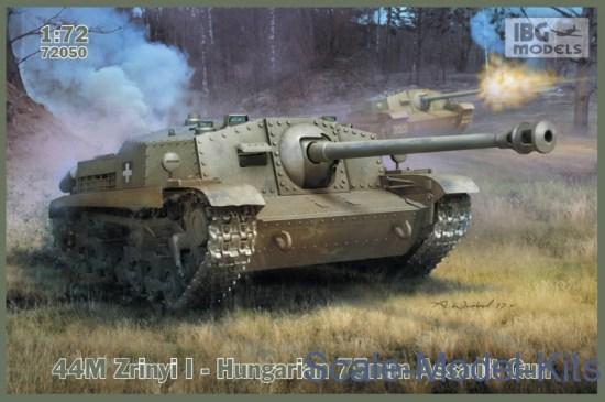 Hungarian 75mm Assault Gun 44M Zrinyi I
