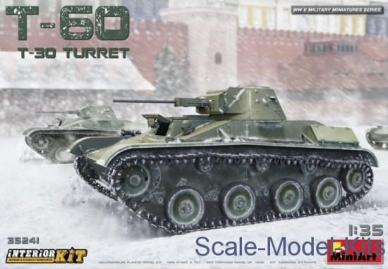 T-60 (T-30 Turret). Interior kit