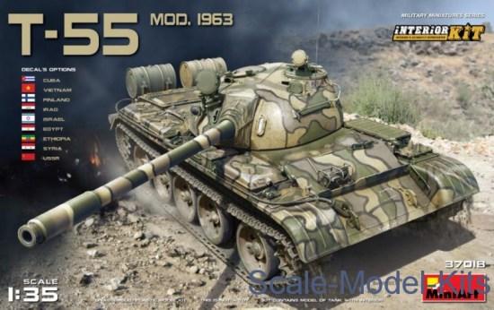 T-55 Mod. 1963. Interior kit
