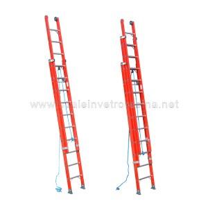 scale in vetroresina con fune 2 o 3 rampe