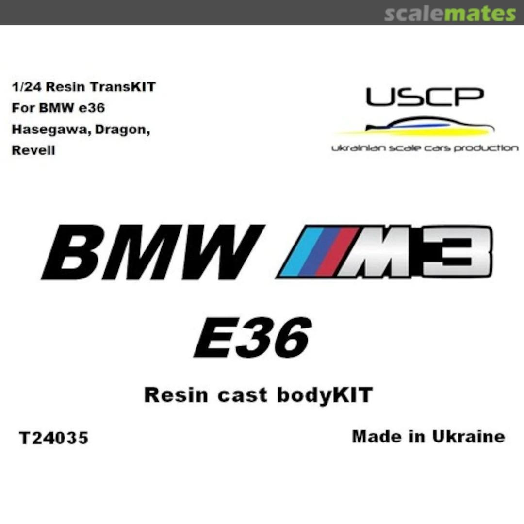 Bmw M3 E36 Uscp T