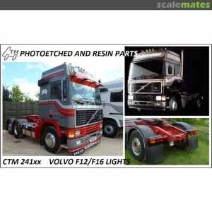 Volvo F10F12F16 Lights, Czech Truck Model CTM24121