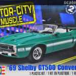 69 Shelby Gt500 Convertible Revell 85 4025 2013