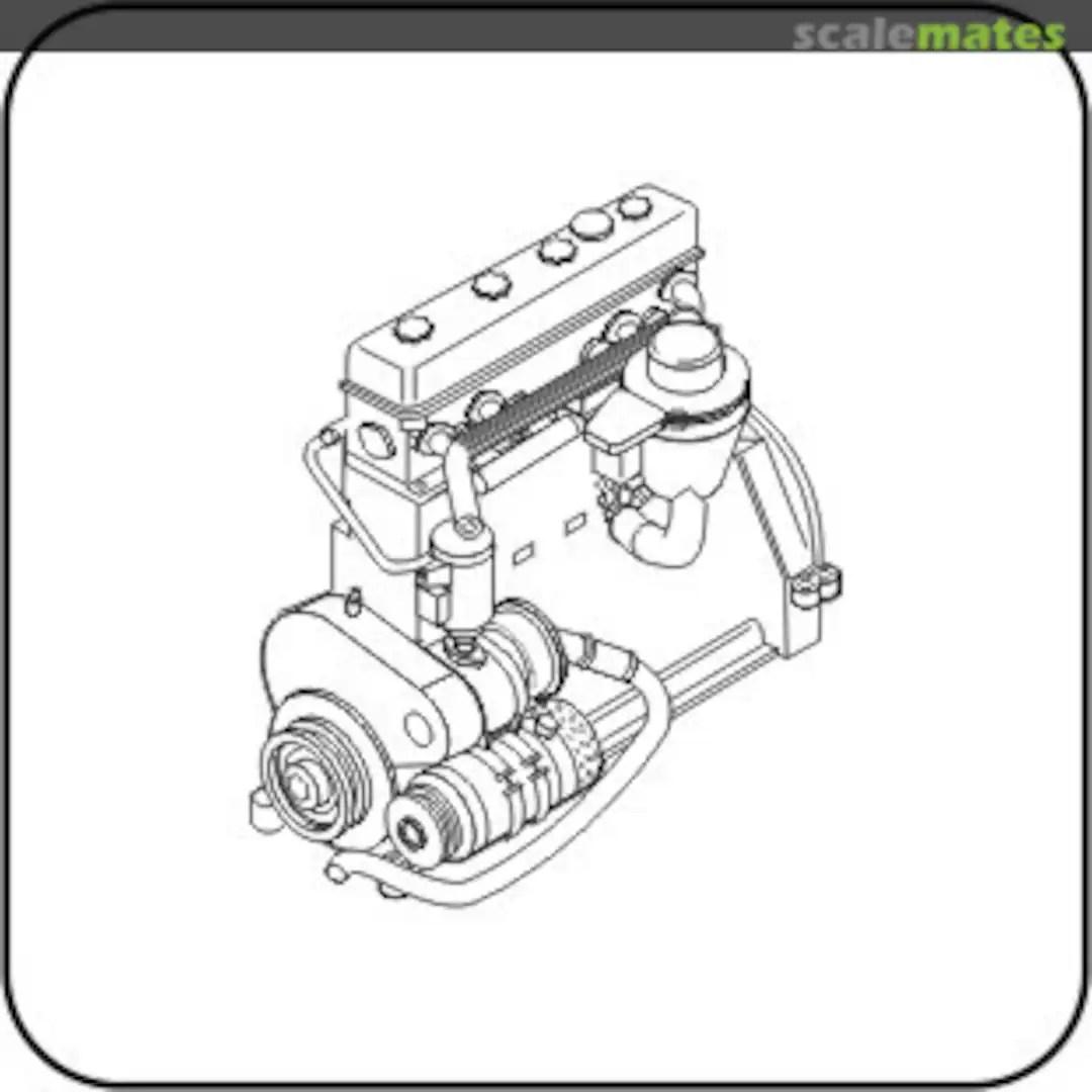 Praga Tnhps Tank Engine Ww Ii Cmk