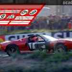Finish Line Ford Gt40 1005 Le Mans Decals 2020