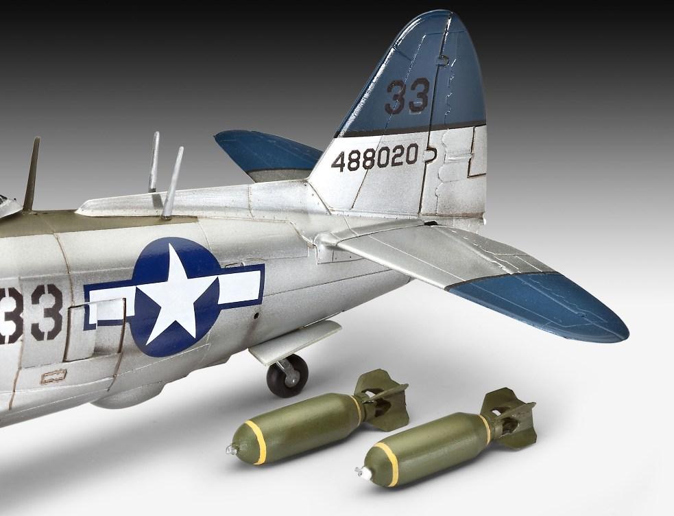 Revell Republic P 47n Thunderbolt 1 48