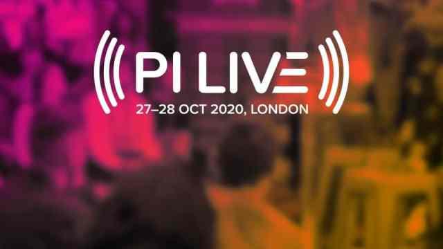 PI Live London Oct 27 — 28, 2020