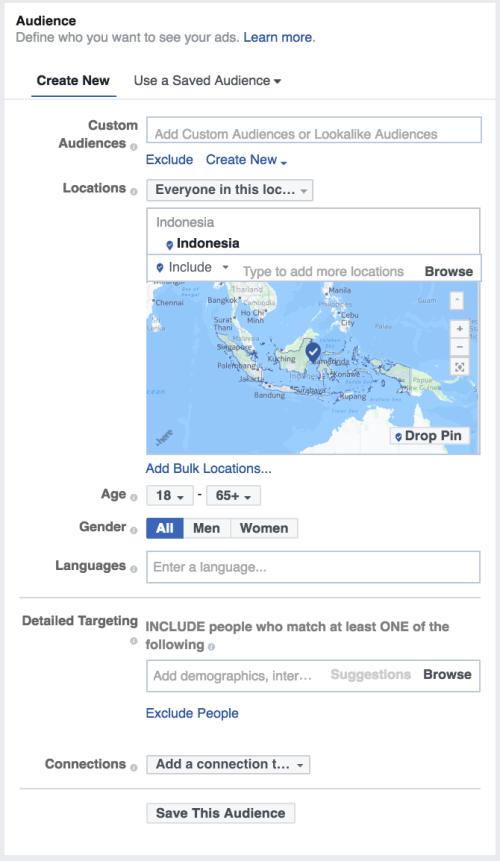 targeting facebook