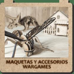 Maquetas y accesorios wargames