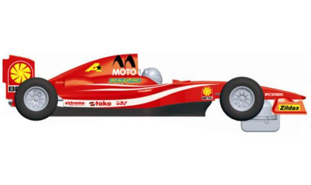 Scalextric car C3141 single seater