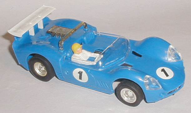 Scalextric Javelin model from 1970