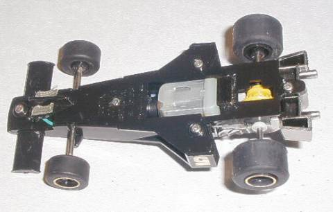 Lotus 77 with magnet fitted
