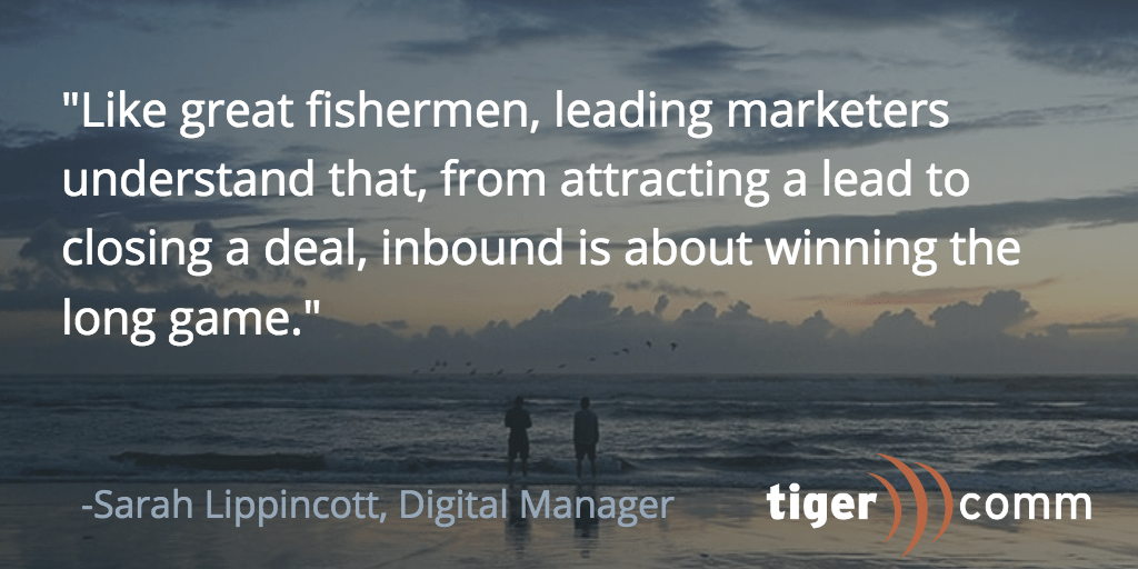 How to Fish with Inbound Marketing: 5 Ways to Catch a Lead