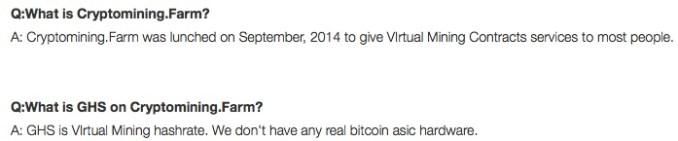 Crypto Mining Farm FAQ