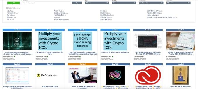Cryptopia.co.nz Marketplace