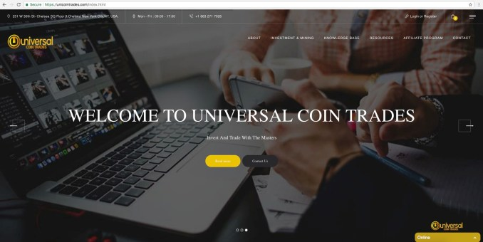 unicointrades.com - Unicoin Trades