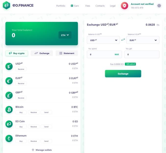 EO Finance Exchange