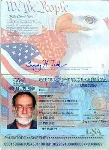 Us Passport Template. sample passport 8 documents in psd pdf word ...
