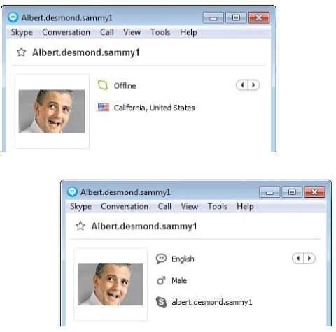 SCAMMERS on SKYPE: albert.desmond.sammy1 (Albert Desmond Sammy)
