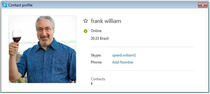 frank william SCR