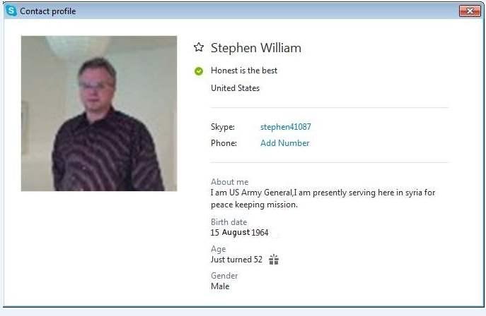 Stephen William SCR
