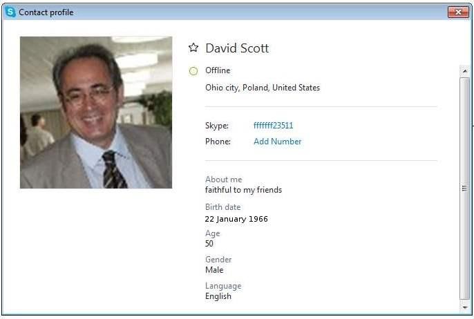 David Scott SCR