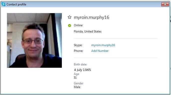 myroin.murphy16 (Myroin Murphy): Account N1/ engr.myroin.murphy (Engr. Myroin Murphy): Account N 2 / myroin.muprhy2016 (Myroin Muprhy): Account N 3 / myroin.murphy1960: Account N 4