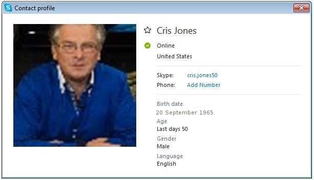 SCAMMERS on SKYPE: cris.jones50 / Cris Jones (Ghana)