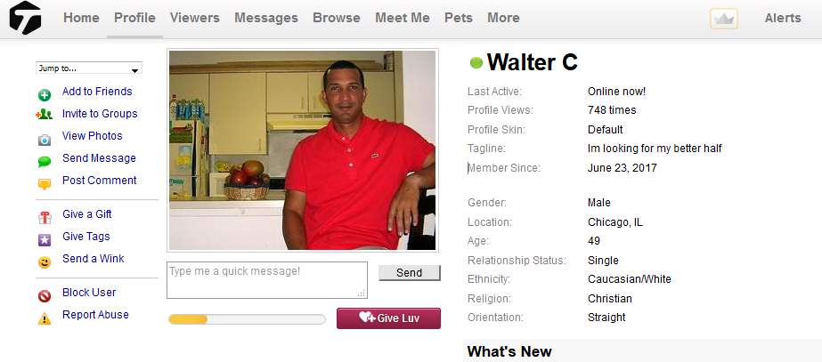 Congrats-your-busted-14: 419 SCAM/Romance Scam: Walter С