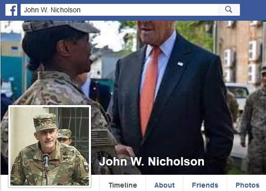 Romance Scam/Fake Military: JOHN W NICHOLSON