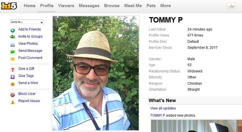 Romance Scam/Loan Scam: TOMMY PENDERSON (Nigeria)