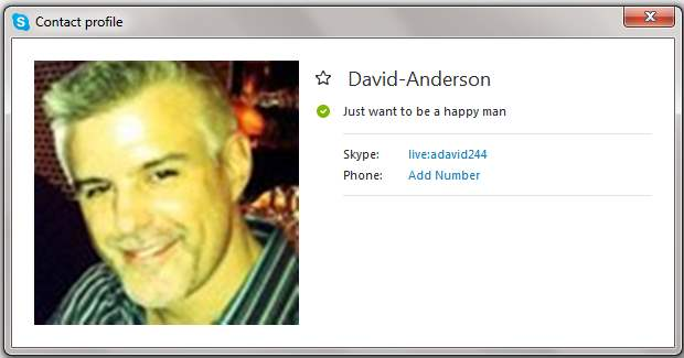Romance Scam/Advance Fee Fraud/Phishing/Money Laundering: DAVID NATHANIEL ANDERSON