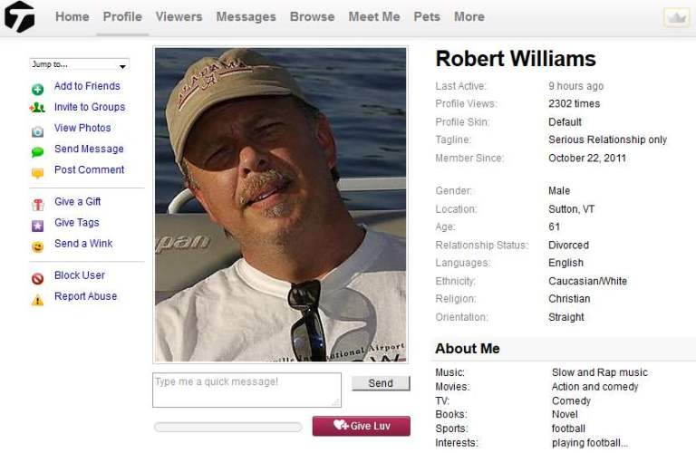 Congrats-your-busted-60: Romance Scam/Loan Scam: ROBERT WILLIAMS (Kenya)