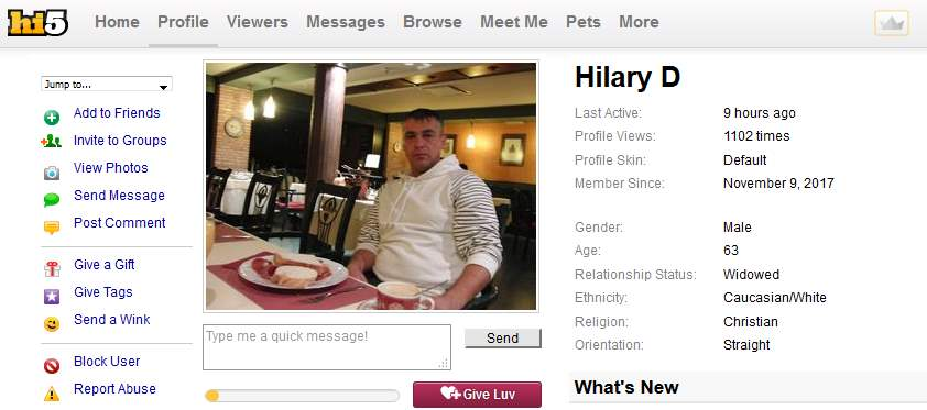 Romance Scam/Loan Scam: HILARY DAVID (Nigeria)