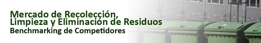 SCAN benchmarking de competidores mercado de recoleccion, limpieza y eliminacion de residuos