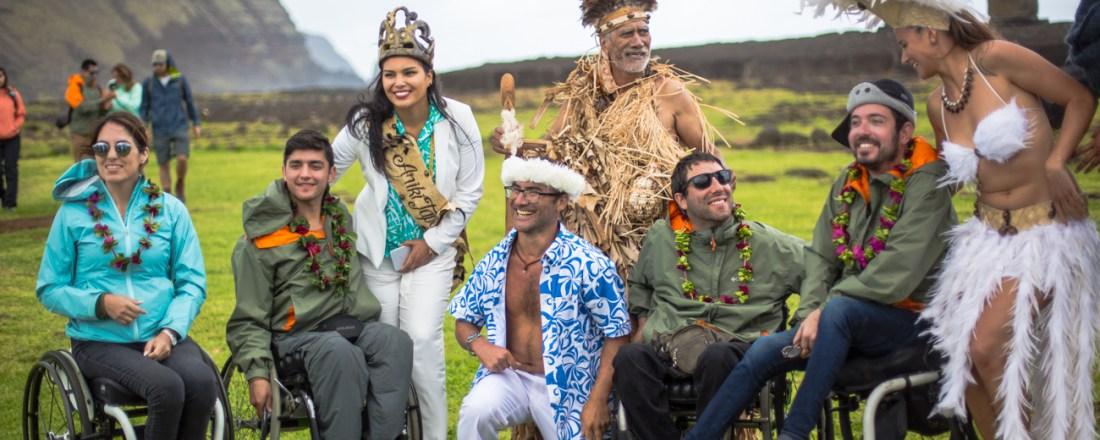 Chilenos implementan iniciativa turística en Rapa Nui para personas con discapacidad