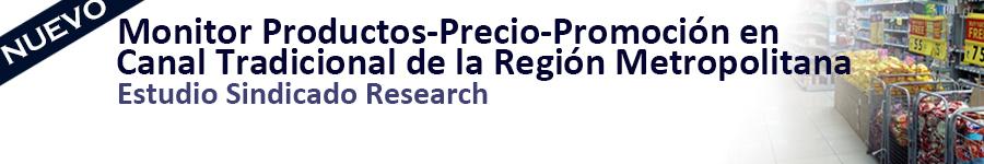 Nuevo_SCAN Research_Monitor productos-precio-promocion en canal tradicional de la region metropolitana
