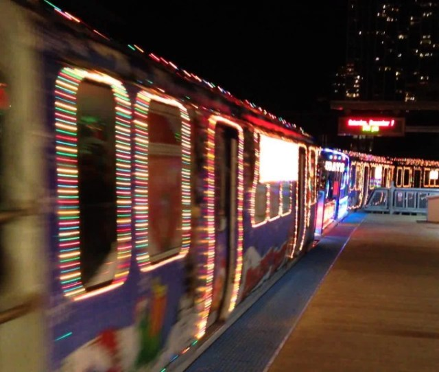 Every December Since  The Chicago Transit Authority Has Brought Holiday Cheer And Good Tidings To Their Riders With The Sprint Cta Holiday Train