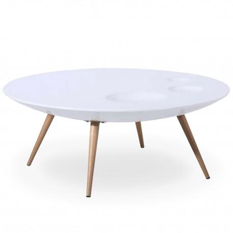 table basse scandinave blanc