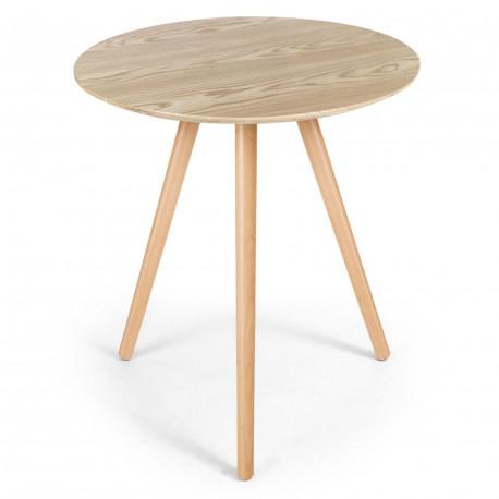 table basse scandinave bois clair