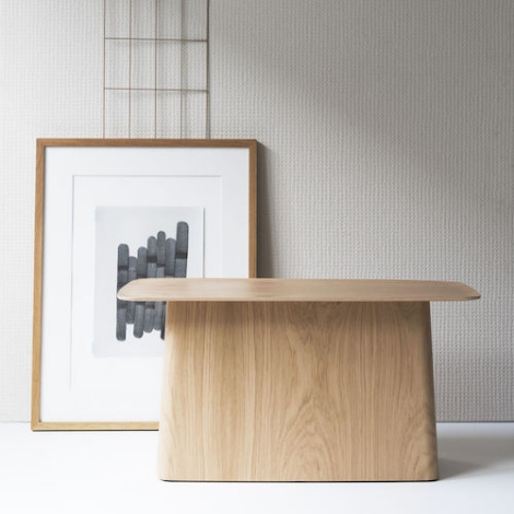 vitra wooden side table design