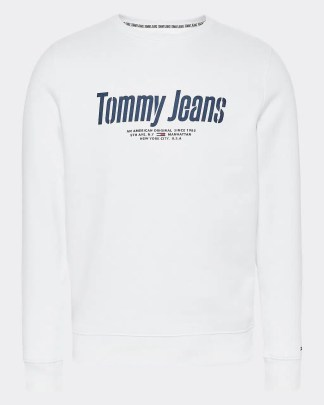 Tommy Jeans graphic crew