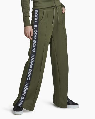 Björn Borg Wide Track Pants Green