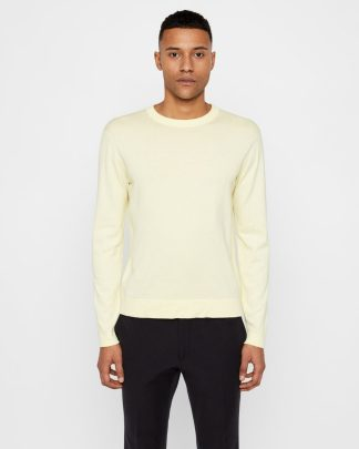 J.Lindeberg Niklas Knitted Sweater Yellow