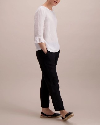 Balmuir Linnea Blouse White
