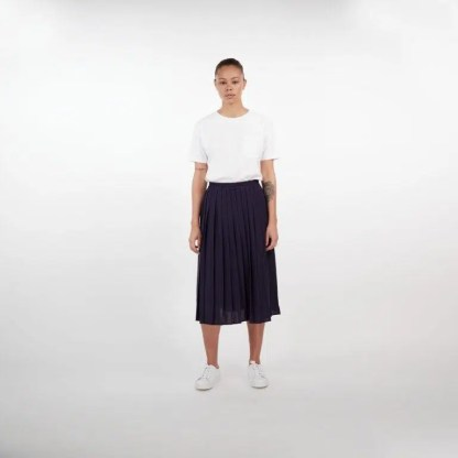 Makia Stream Skirt Navy