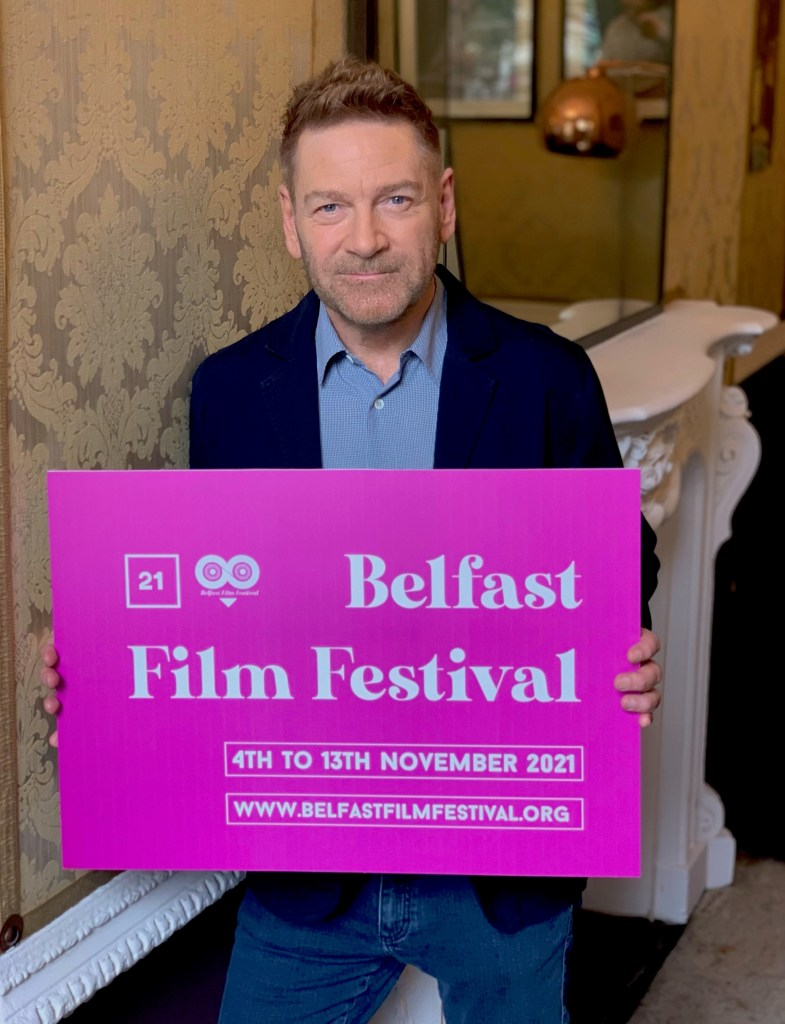 Kenneth Branagh is set to bring his semi-autobiographical film 'Belfast' to the ICC Belfast, Waterfront Hall for its Irish Première at the opening night of Belfast Film Festival 2021.