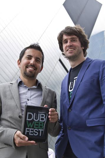 Co- Founders Erol Mustafov and Mikael Thierry